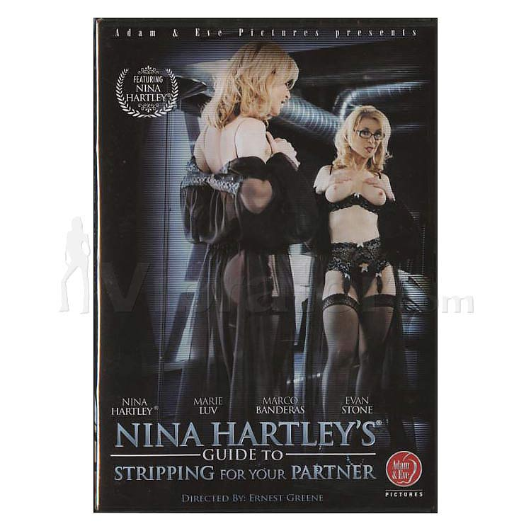 Nina Hartleys Guide to Stripping for your Partner - DVD
