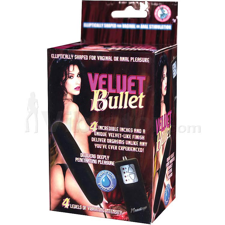 Waterproof Velvet Bullet