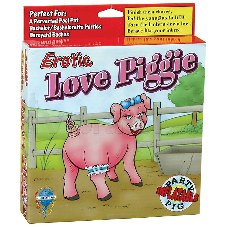 Erotic blow-up piggie