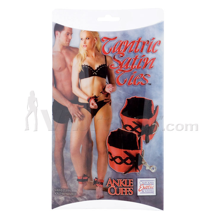Tantric Satin Ties - Ankle Cuffs