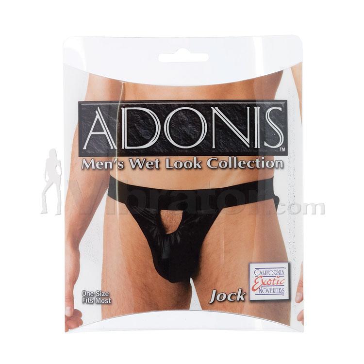 Adonis Men\'s Wet Look Jock