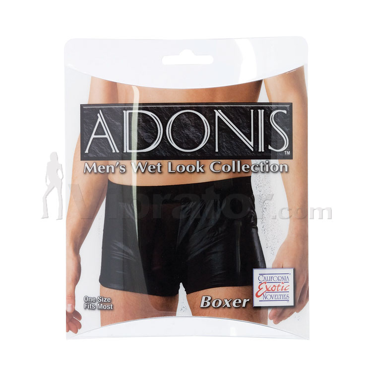 Adonis Men\'s Wet Look Boxer