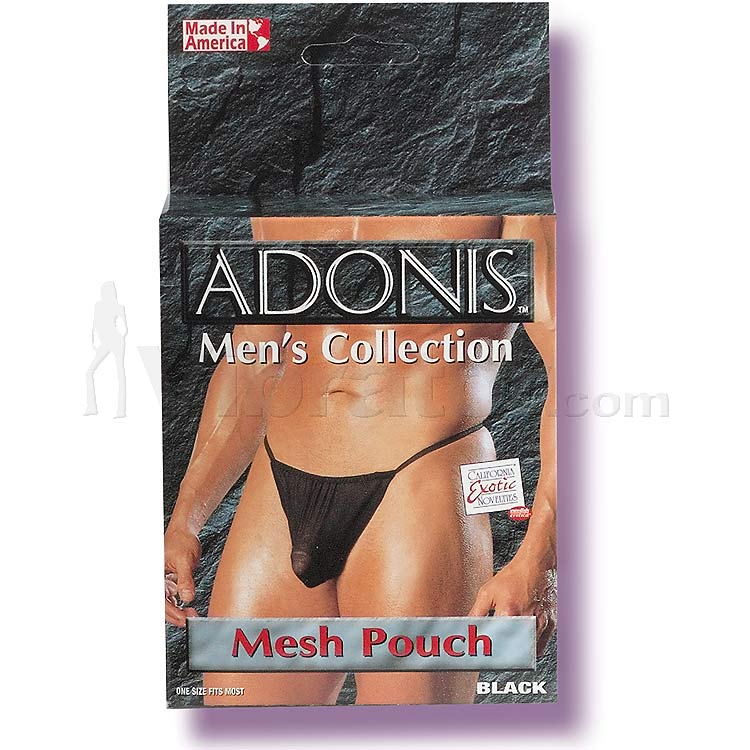 Adonis Mens Mesh Pouch