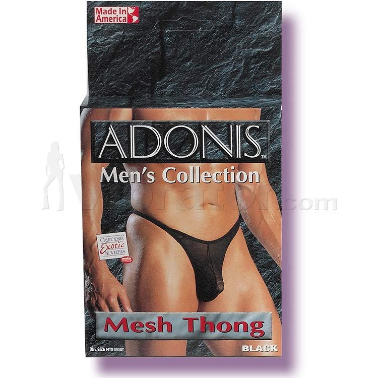Adonis Mens Mesh Thong