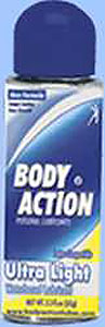 Body Action Ultra Light Liquid Lube