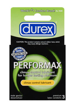 Durex Performax Condoms (3-pack)