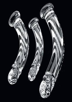 Curved Crystal Cock