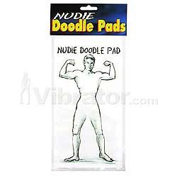 Nudie Doodle Pads -male