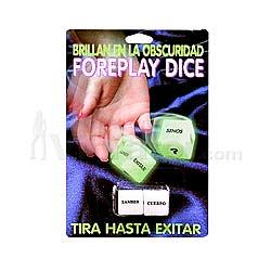 Erotic Dice - Spanish
