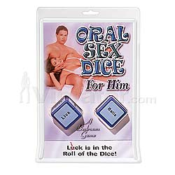Oral Sex Dice For Him