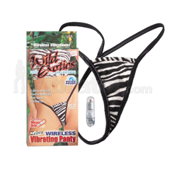 Wireless Vibrating Panty -Zebra