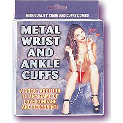 Metal Wrist and Ankle Cuffs