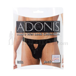 Adonis Men's Wet Look Collection Jock