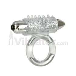 Vibrating Support Plus Pleasure Point Ring