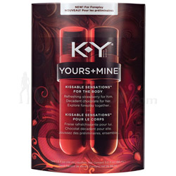 KY Yours + Mine Kissable Sensations